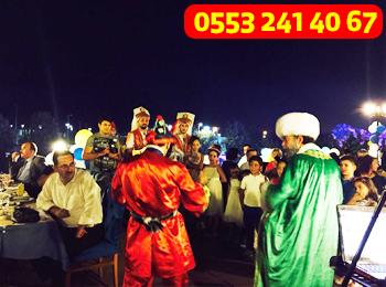 Mehter takımı ve semazen ekibi ramazan etkinliği